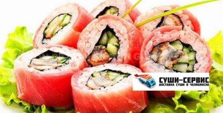 Суши, роллы, хосомаки, темпура, салаты и наборы от ресторана доставки Суши-Сервис. В лучших традициях вкуса!